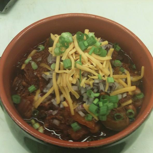 Chef Wayne's 3 Bean Pulled Pork Chili @ Annie's Vintage Gourmet Market