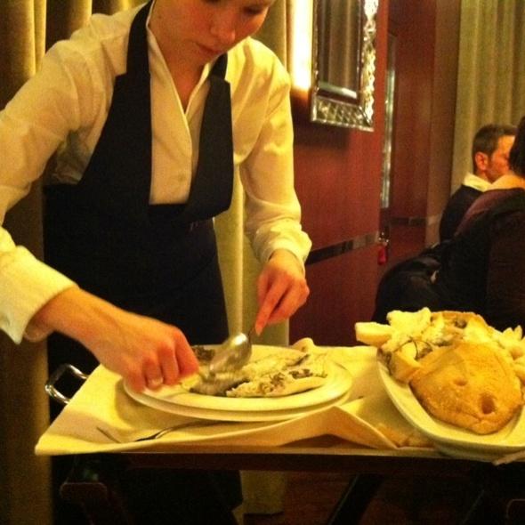 Dover Sole @ Mori Venice Bar