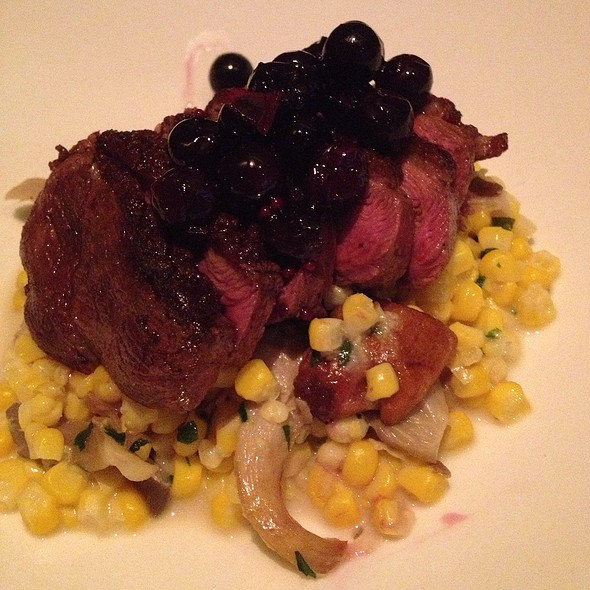 Grilled Duck Breast - Miller Union, Atlanta, GA