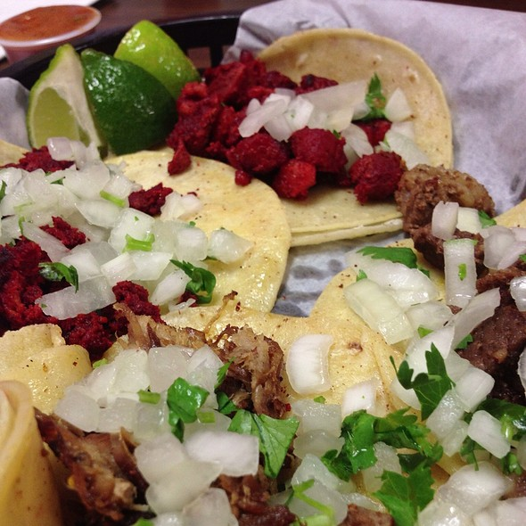 street tacos @ Ricos Taco Lupe