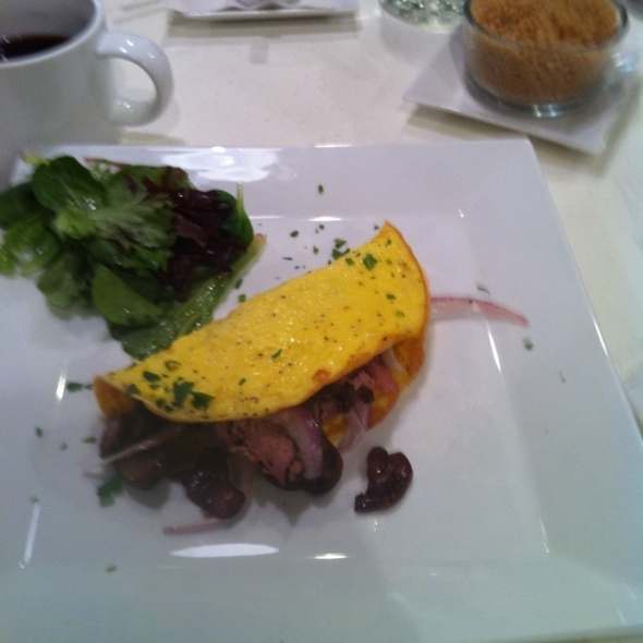 Omelet W Turkey Pastrami , And Mushrooms, And A Side Of Quinoa