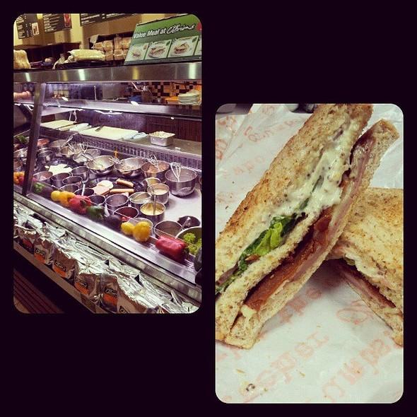 Feeling Healthy w Crambo Club Sandwich @ O'Briens Irish Sandwich Bar