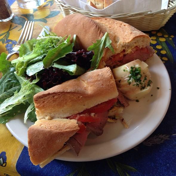 Lamb Sandwich - Le Bouchon, Portland, OR