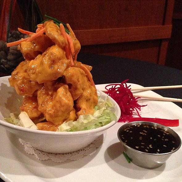 Spicy Thai Shrimp @dinetampabay @grillsmith @ Grillsmith Restaurant