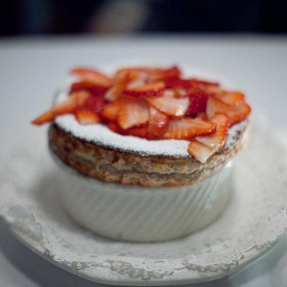 Strawberry Souffle @ Cafe Jacqueline