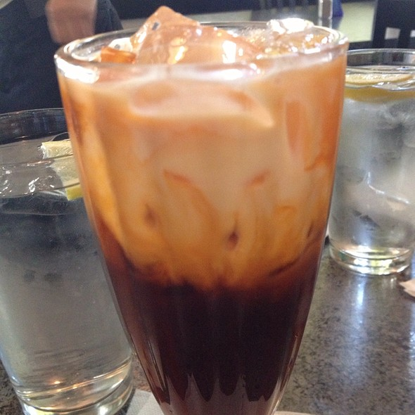 Thai Sweet Iced Tea