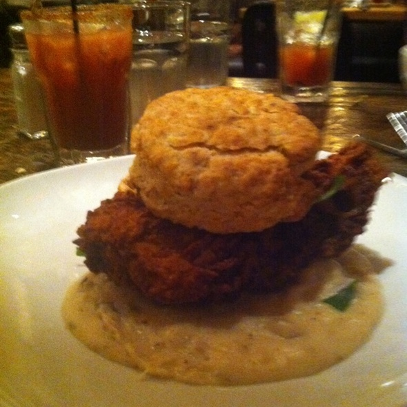 Fried Chicken Biscuit @ Lowcountry