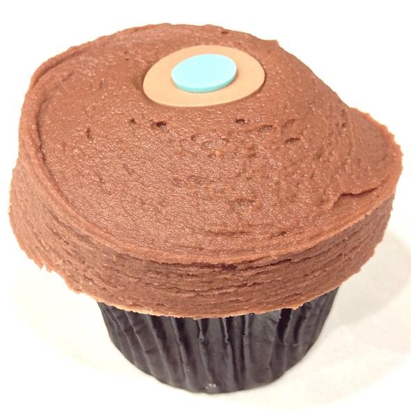 Vanilla Hazelnut Chocolate Cupcake