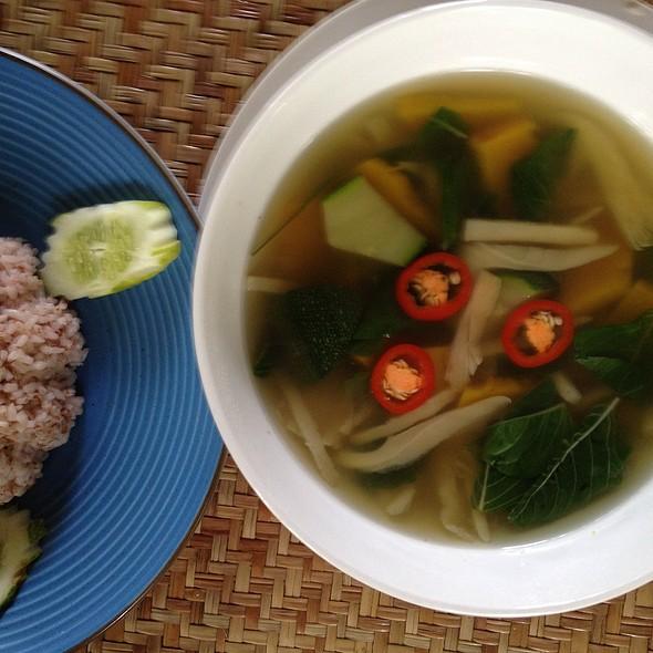 Khmer Soup Mushroom @ Peace Cafe