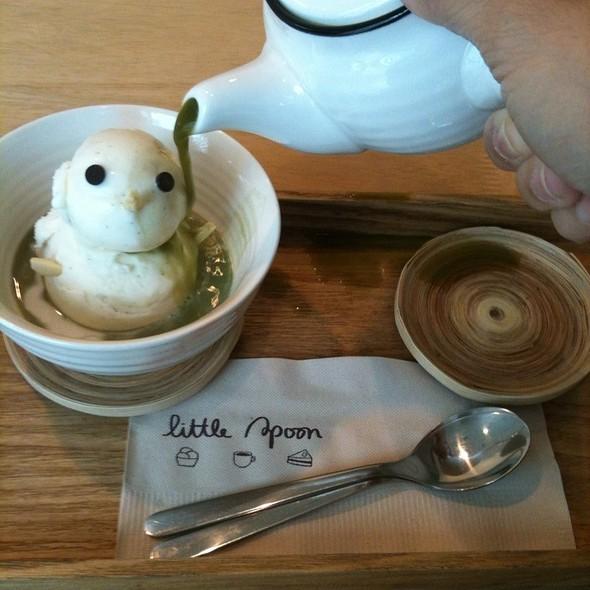 Matcha Affogato @ Cafe Little Spoon