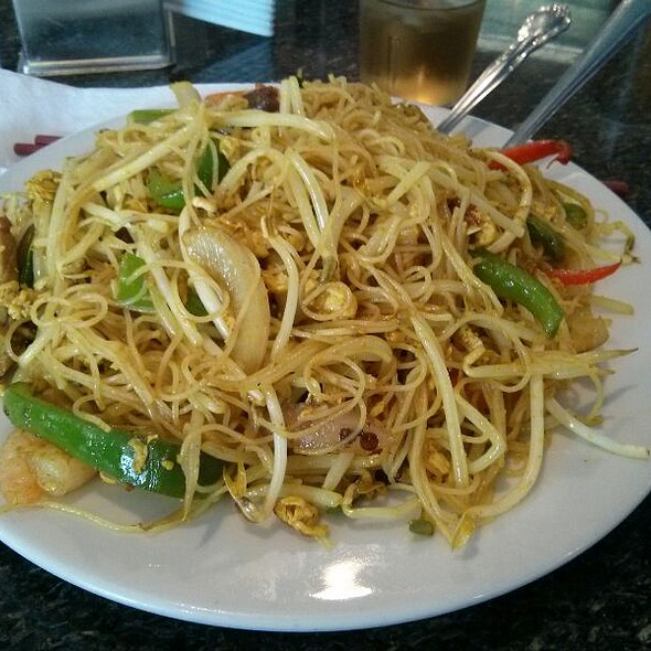 Singapore Style Rice Noodles
