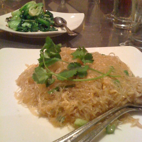 Crab with Cellophane Noodles @ Out the Door