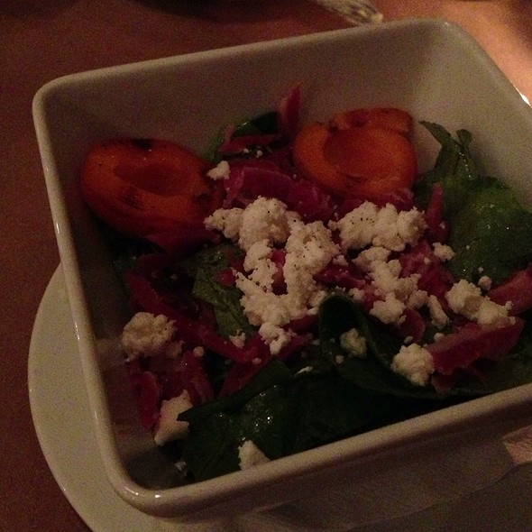 Salad With Apricot, Proscuitto And Goat Cheese - Grange Kitchen & Bar, Ann Arbor, MI