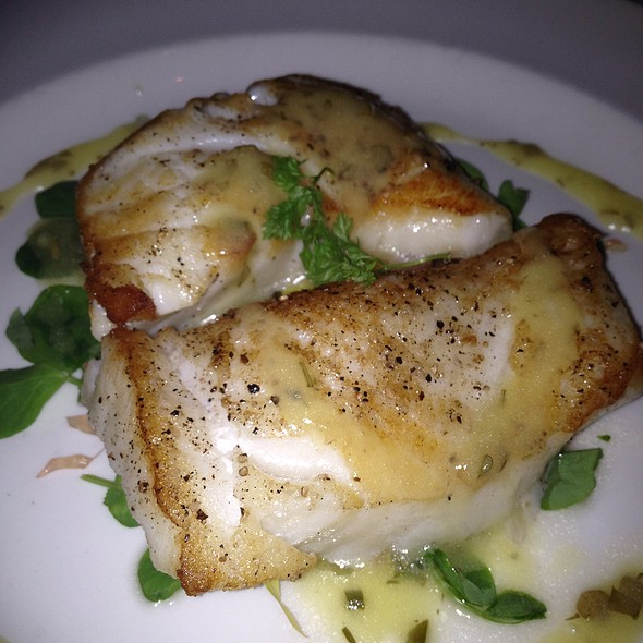 Sea bass - The Capital Grille - Plano
