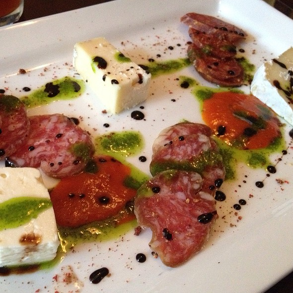 Creminelli Salami And Local Cheese Plate - Martine Cafe, Salt Lake City, UT