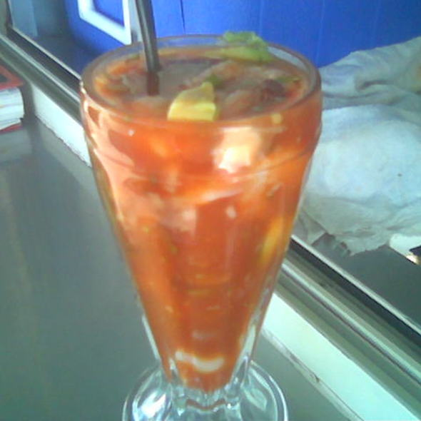 Shrimp @ Marisquería El Güero