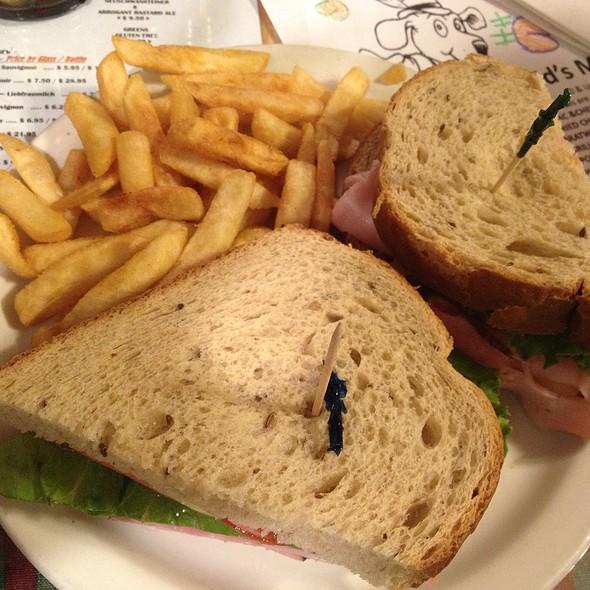 Black Forest Ham & Swiss @ Old Bavaria Inn