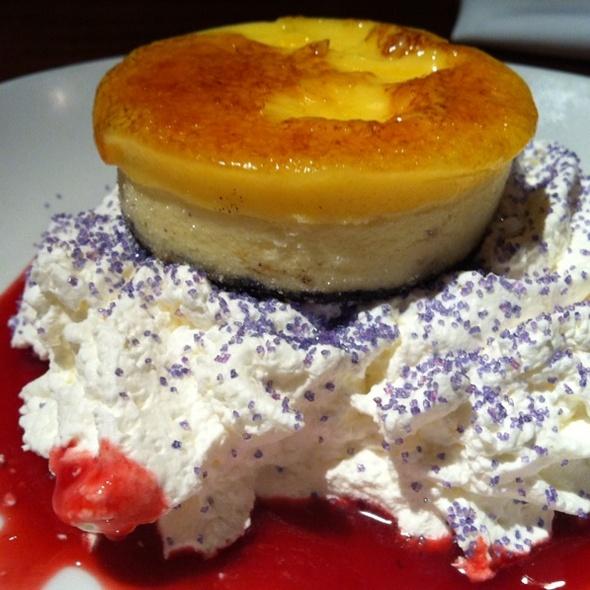 Citrus Cheesecake Brulee @ Elephant Bar Restaurant