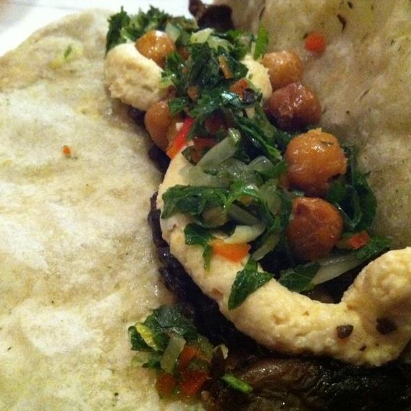 Wild Mushroom Taco @ Taco Asylum
