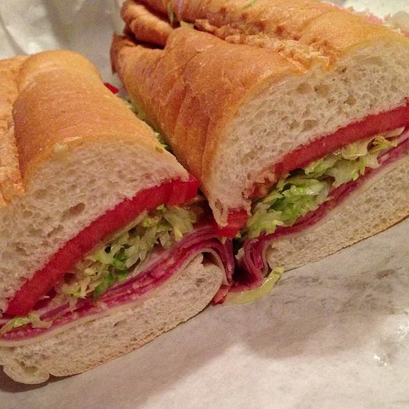 #5 The Super Sub - Provolone, Ham, Proscuittini & Cappacuolo