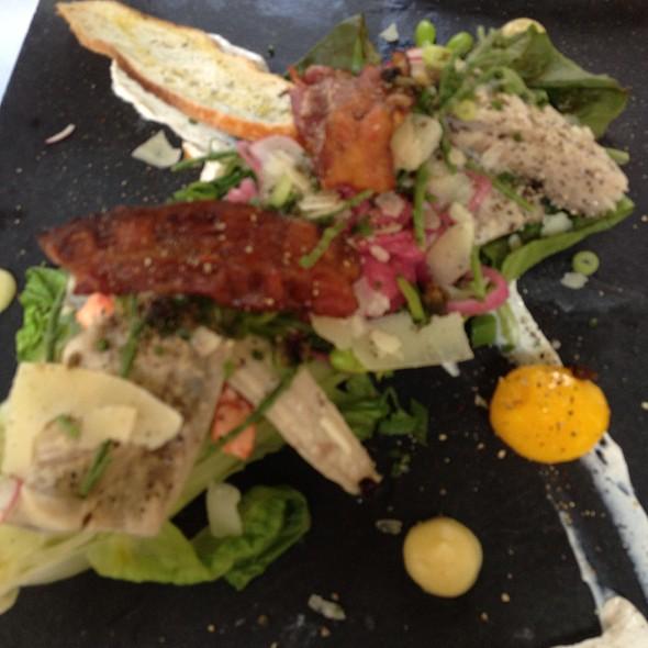 Salad With Shrimps And Mackerel - Bistro L'Aromate - Centre-Ville, Montréal, QC