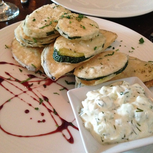 Fried Zucchini - Taverna Mykonos, Elmwood Park, NJ