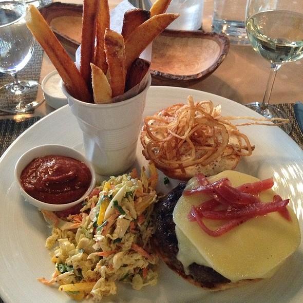 Kobe Beef Burger - Hardware Grill, Edmonton, AB