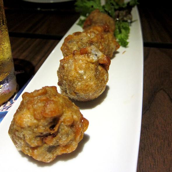 Deep Fried Haggis @ Saints Bar and Kitchen