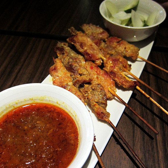 Beef Satay @ Saints Bar and Kitchen