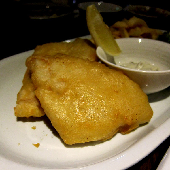 Fish and Chips @ Saints Bar and Kitchen