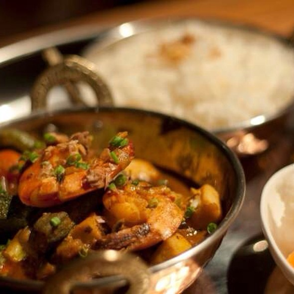Seafood Curry @ Ginger