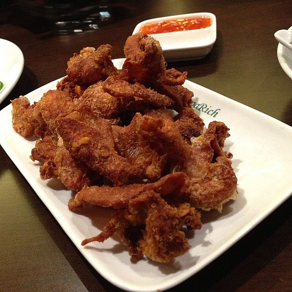Deep Fried Chicken Skins @ PappaRich
