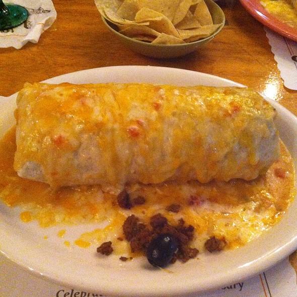 Garbage Burrito - Mijares Mexican Restaurant, Pasadena, CA
