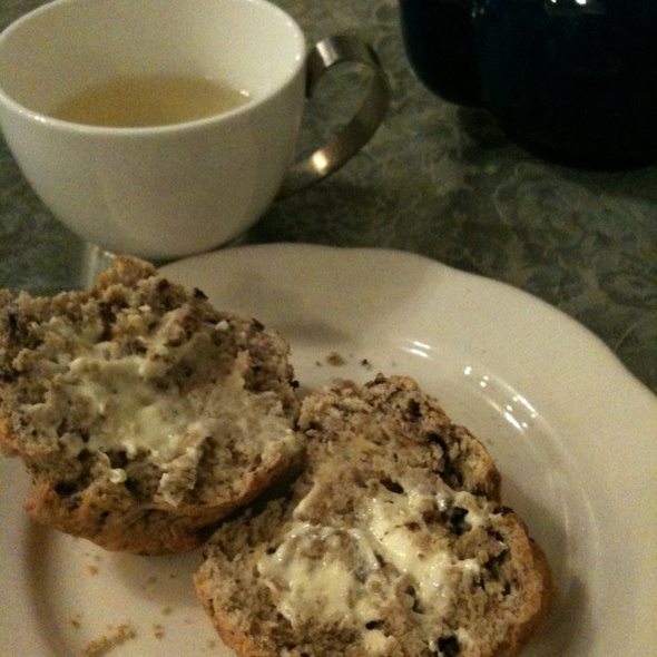 Chocolate Chip Scone @ Leland Tea Company
