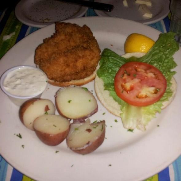 Tidewater Fish Sandwich - Tidewater Grill - Charleston, Charleston, WV