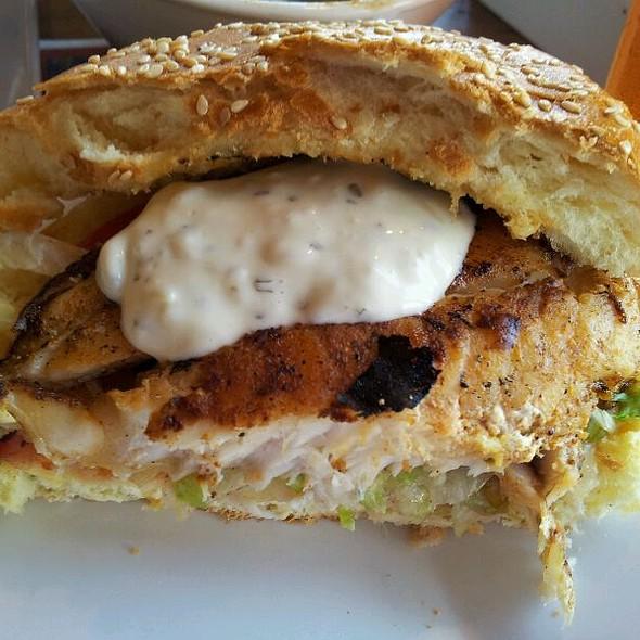 My Half Grouper Sandwich With Housemade Tartar - Whiskey Joe's, Tampa, FL