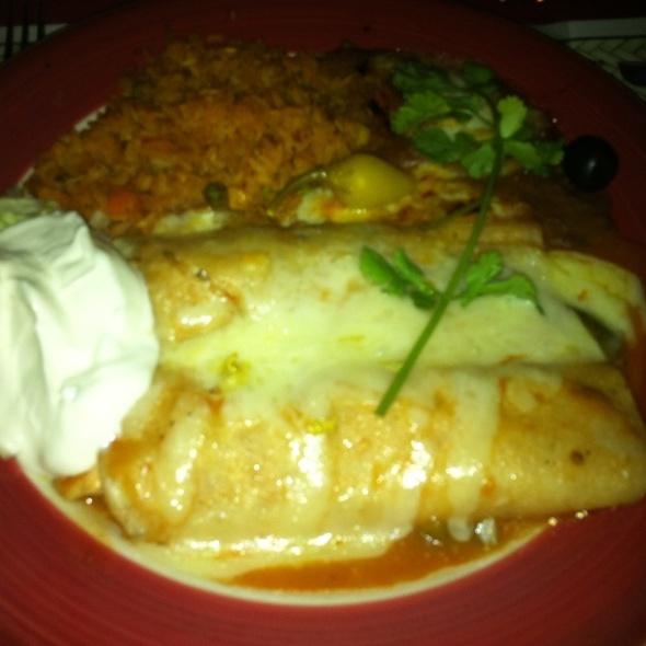 Chicken Enchiladas Ranchero