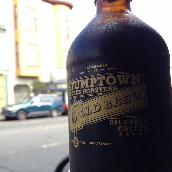 Stumptown Cold Brew Coffee @ Cafe St. Jorge