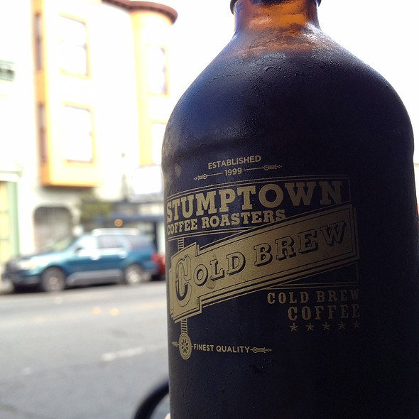 Stumptown Cold Brew Coffee @ Cafe St. Jorge