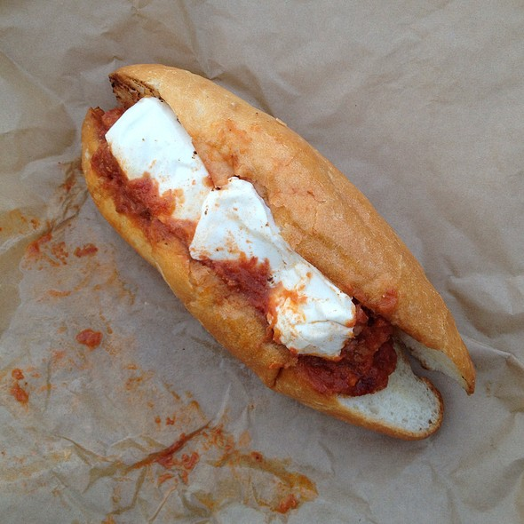 Meatball Sandwich @ Red Sauce
