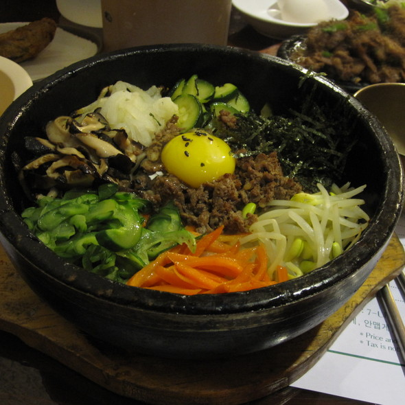 Bibimbap @ Cho Dang Tofu House