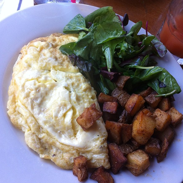 Mushroom Omelette With Asiago & Manchego Cheese W/Truffle Oil - Poco, New York, NY