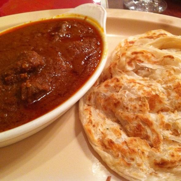 Paratha With Lamb Korma - Mayura Restaurant, Culver City, CA