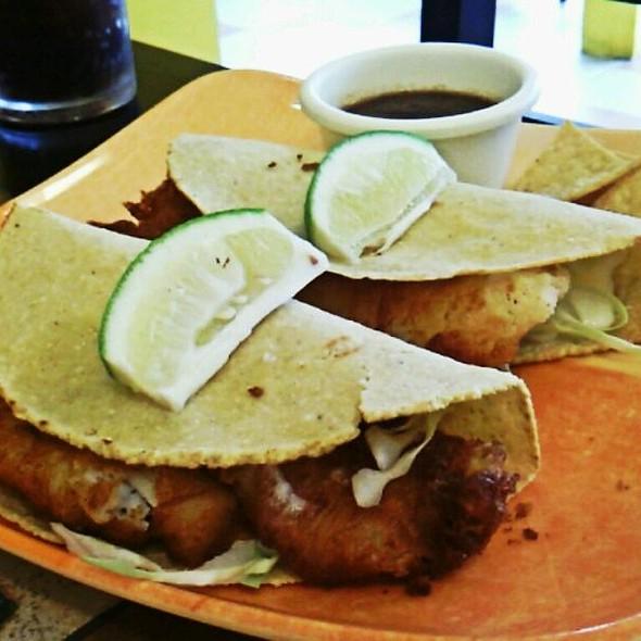 Fish Rolled Tacos @ Hermanos Taco Shop