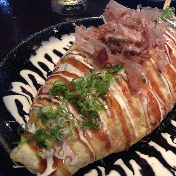 Omelet Salad @ Kiraku