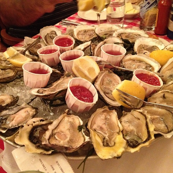 Assorted Oyster Platter - Grand Central Oyster Bar, New York, NY