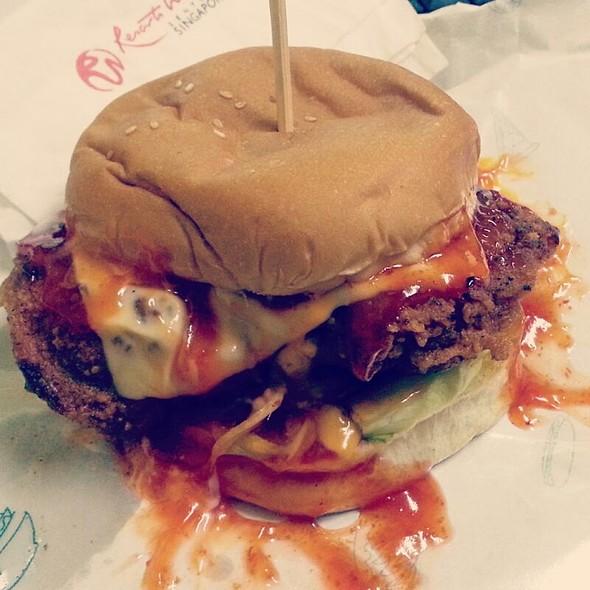 Burger Bakar @ Deen Burger Bakar - Bukit Gambir