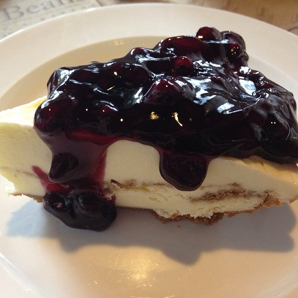 Blueberry Cheesecake @ Bag of Beans