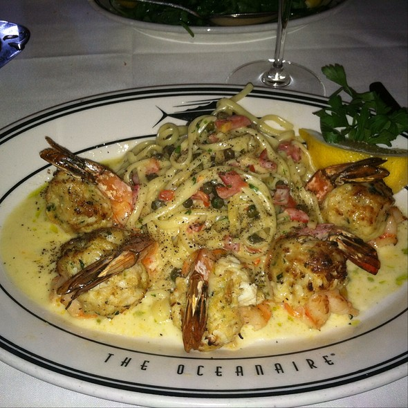 Lump Crab Cake And Shrimp Scampi - Oceanaire Seafood Room - Baltimore, Baltimore, MD