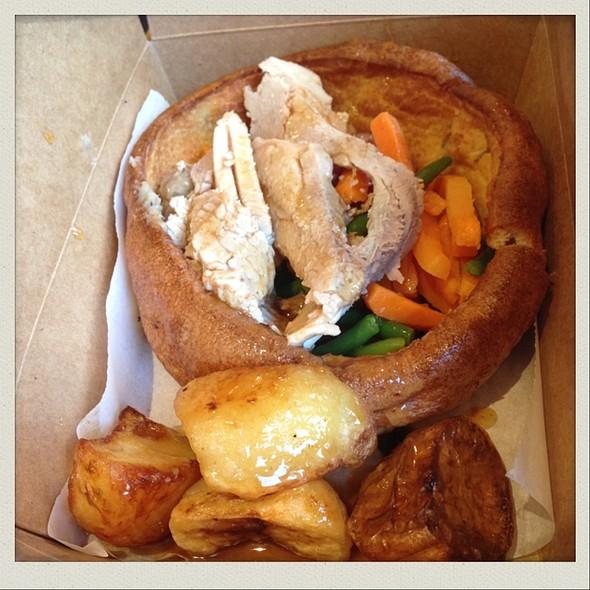 Roast Pork Yorkshire Pudding And Veg